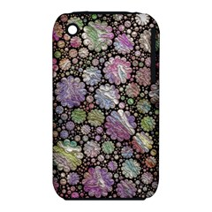 Sweet Allover 3d Flowers Apple iPhone 3G/3GS Hardshell Case (PC+Silicone)