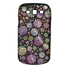 Sweet Allover 3d Flowers Samsung Galaxy S III Classic Hardshell Case (PC+Silicone)