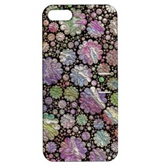 Sweet Allover 3d Flowers Apple iPhone 5 Hardshell Case with Stand