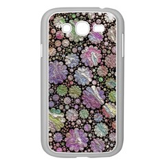 Sweet Allover 3d Flowers Samsung Galaxy Grand DUOS I9082 Case (White)