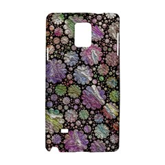Sweet Allover 3d Flowers Samsung Galaxy Note 4 Hardshell Case
