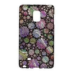 Sweet Allover 3d Flowers Galaxy Note Edge