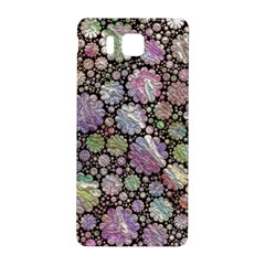 Sweet Allover 3d Flowers Samsung Galaxy Alpha Hardshell Back Case