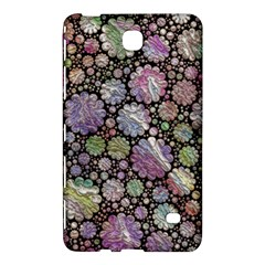 Sweet Allover 3d Flowers Samsung Galaxy Tab 4 (7 ) Hardshell Case