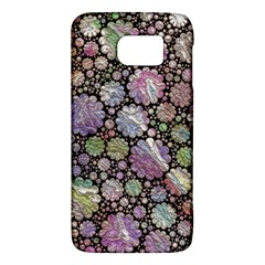 Sweet Allover 3d Flowers Galaxy S6
