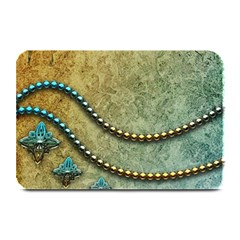 Elegant Vintage With Pearl Necklace Plate Mats