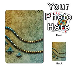 Elegant Vintage With Pearl Necklace Multi Purpose Cards (rectangle)