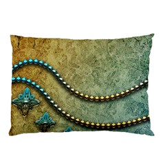 Elegant Vintage With Pearl Necklace Pillow Cases (Two Sides)