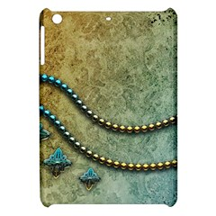Elegant Vintage With Pearl Necklace Apple iPad Mini Hardshell Case