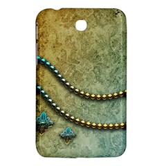 Elegant Vintage With Pearl Necklace Samsung Galaxy Tab 3 (7 ) P3200 Hardshell Case