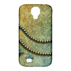 Elegant Vintage With Pearl Necklace Samsung Galaxy S4 Classic Hardshell Case (PC+Silicone)