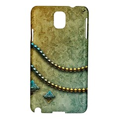 Elegant Vintage With Pearl Necklace Samsung Galaxy Note 3 N9005 Hardshell Case