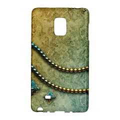 Elegant Vintage With Pearl Necklace Galaxy Note Edge