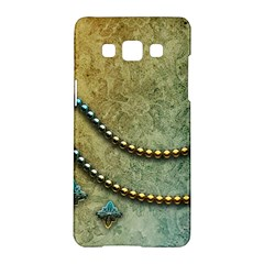 Elegant Vintage With Pearl Necklace Samsung Galaxy A5 Hardshell Case