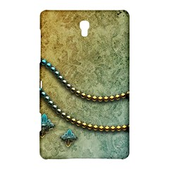Elegant Vintage With Pearl Necklace Samsung Galaxy Tab S (8 4 ) Hardshell Case