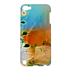 Wonderful Flowers In Colorful And Glowing Lines Apple iPod Touch 5 Hardshell Case