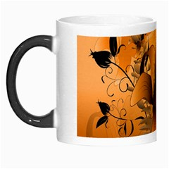 Awesome Summer  Flowers In Soft Red And Yellow Morph Mugs