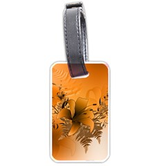 Awesome Summer  Flowers In Soft Red And Yellow Luggage Tags (Two Sides)