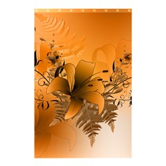 Awesome Summer  Flowers In Soft Red And Yellow Shower Curtain 48  X 72  (small)