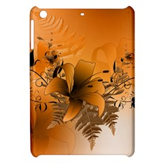 Awesome Summer  Flowers In Soft Red And Yellow Apple iPad Mini Hardshell Case