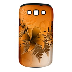 Awesome Summer  Flowers In Soft Red And Yellow Samsung Galaxy S III Classic Hardshell Case (PC+Silicone)