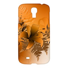 Awesome Summer  Flowers In Soft Red And Yellow Samsung Galaxy S4 I9500/I9505 Hardshell Case