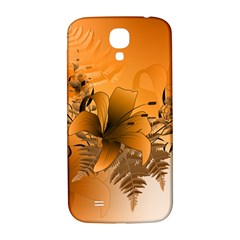 Awesome Summer  Flowers In Soft Red And Yellow Samsung Galaxy S4 I9500/I9505  Hardshell Back Case