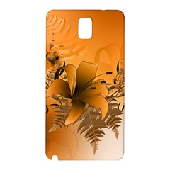 Awesome Summer  Flowers In Soft Red And Yellow Samsung Galaxy Note 3 N9005 Hardshell Back Case