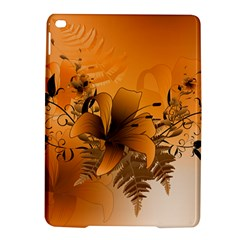 Awesome Summer  Flowers In Soft Red And Yellow iPad Air 2 Hardshell Cases