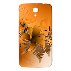 Awesome Summer  Flowers In Soft Red And Yellow Samsung Galaxy Mega I9200 Hardshell Back Case