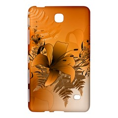 Awesome Summer  Flowers In Soft Red And Yellow Samsung Galaxy Tab 4 (7 ) Hardshell Case
