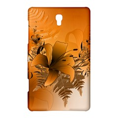 Awesome Summer  Flowers In Soft Red And Yellow Samsung Galaxy Tab S (8.4 ) Hardshell Case