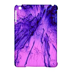 Special Fireworks Pink,blue Apple iPad Mini Hardshell Case (Compatible with Smart Cover)