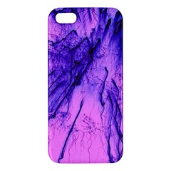 Special Fireworks Pink,blue iPhone 5S Premium Hardshell Case
