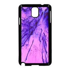 Special Fireworks Pink,blue Samsung Galaxy Note 3 Neo Hardshell Case (Black)