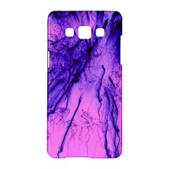 Special Fireworks Pink,blue Samsung Galaxy A5 Hardshell Case