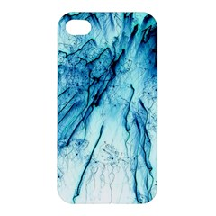 Special Fireworks, Aqua Apple iPhone 4/4S Hardshell Case