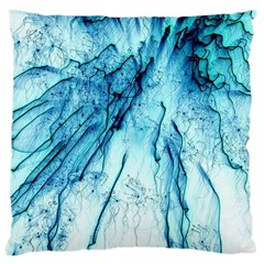 Special Fireworks, Aqua Large Cushion Cases (One Side)