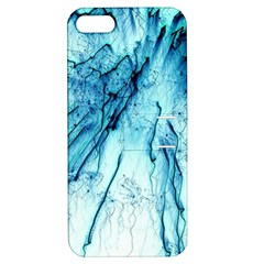 Special Fireworks, Aqua Apple iPhone 5 Hardshell Case with Stand