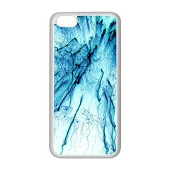 Special Fireworks, Aqua Apple iPhone 5C Seamless Case (White)