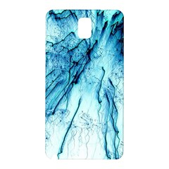 Special Fireworks, Aqua Samsung Galaxy Note 3 N9005 Hardshell Back Case
