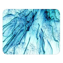 Special Fireworks, Aqua Double Sided Flano Blanket (Large)