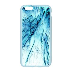 Special Fireworks, Aqua Apple Seamless iPhone 6 Case (Color)