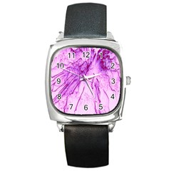 Special Fireworks, Pink Square Metal Watches