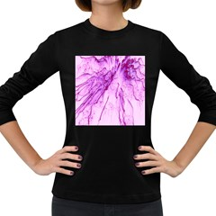 Special Fireworks, Pink Women s Long Sleeve Dark T-Shirts
