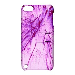 Special Fireworks, Pink Apple iPod Touch 5 Hardshell Case with Stand