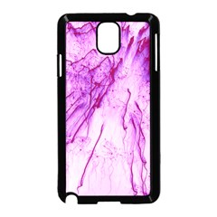 Special Fireworks, Pink Samsung Galaxy Note 3 Neo Hardshell Case (Black)
