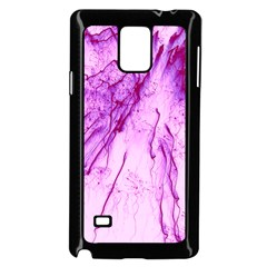 Special Fireworks, Pink Samsung Galaxy Note 4 Case (black)