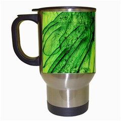 Special Fireworks, Green Travel Mugs (White)