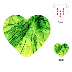 Special Fireworks, Green Playing Cards (Heart)